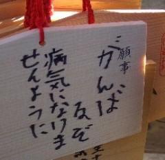 2007春の願い事