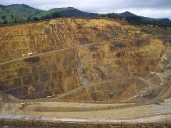 ワイヒの金鉱~露天掘り