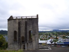 ワイヒ~昔の金鉱の建物