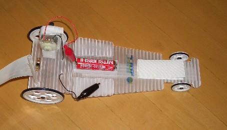 元燃料電池車の乾電池車