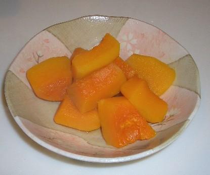冬至なので、かぼちゃの含め煮