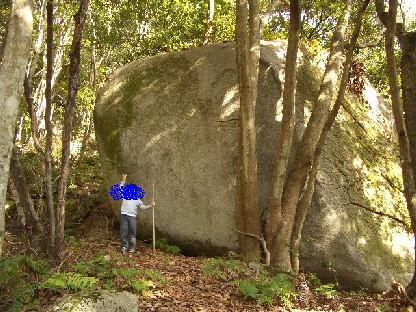 巨石その1