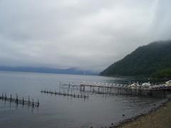 支笏湖湖畔