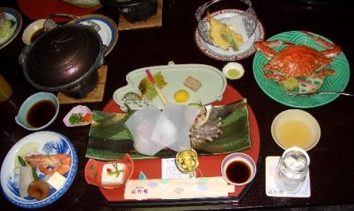 旅館の夕食