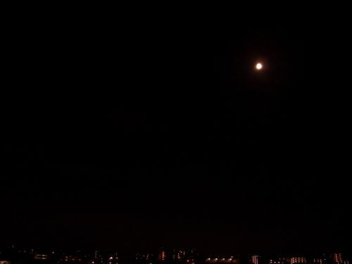 月食終了!