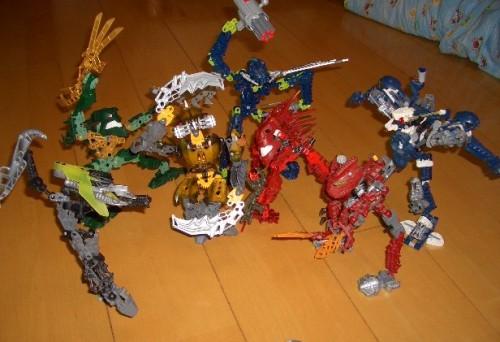 LEGO バイオニクルシリーズ